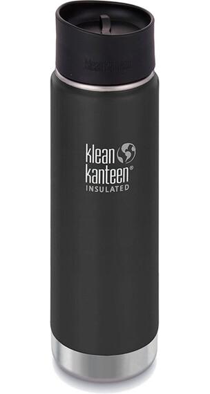 Klean Kanteen Insulated Wide Café Bootle 20oz (592 ml) Matte Finish Shale Black